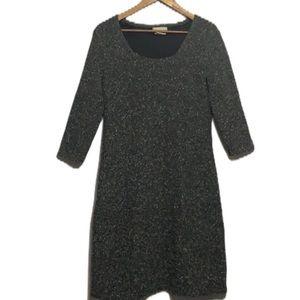 The Territory Ahead Wool Blend Dress Grey Size LP